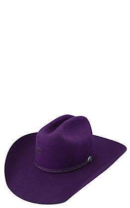 Charlie 1 Horse Purple Dime Store Cowgirl Hat