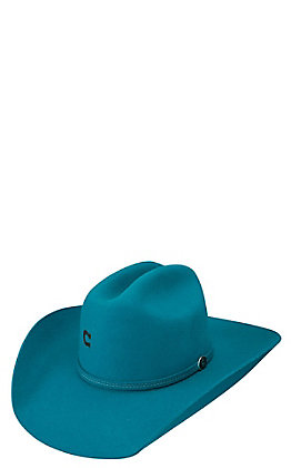 Charlie 1 Horse 4X Turquoise Dime Store Cowgirl Hat