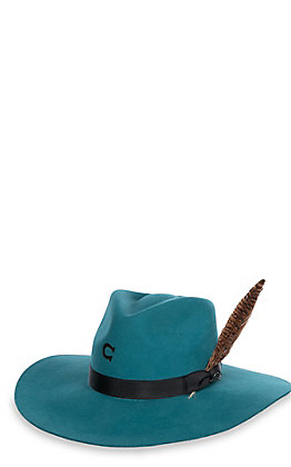 Charlie 1 Horse Women's Highway Teal Wool Hat