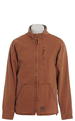 Cowboy Workwear Men's Brown Sherpa Lined Jacket