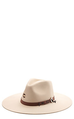 Charlie 1 Horse Women's Bone Teepee Western Fashion Hat