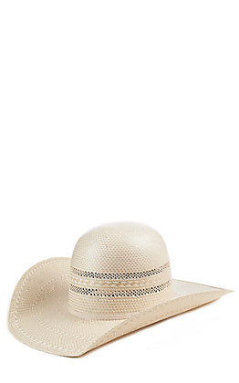 Atwood 100X Cowtown Open Crown Half Breed Vent Cowboy Hat