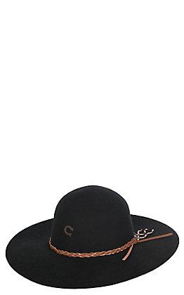 Charlie 1 Horse Women's Black Wanderlust Hat