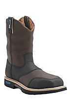 Cinch Men's Brown Cordura H2O Waterproof Ceramic Safety Toe Work Boot