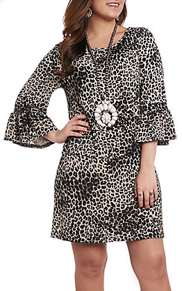 R. Rouge Women's Leopard Print Dress