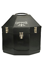 Equine Carriers Black Double Stacked Hat Carrier