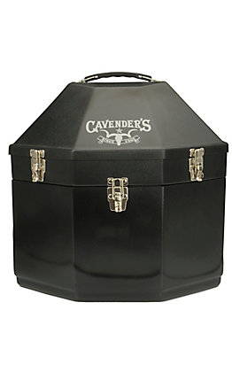Hammer Plastics Black Double Stacked Hat Carrier