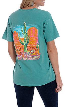 Girlie Girl Originals Women's Seafoam Desert Dreamin' Short Sleeve T-Shirt