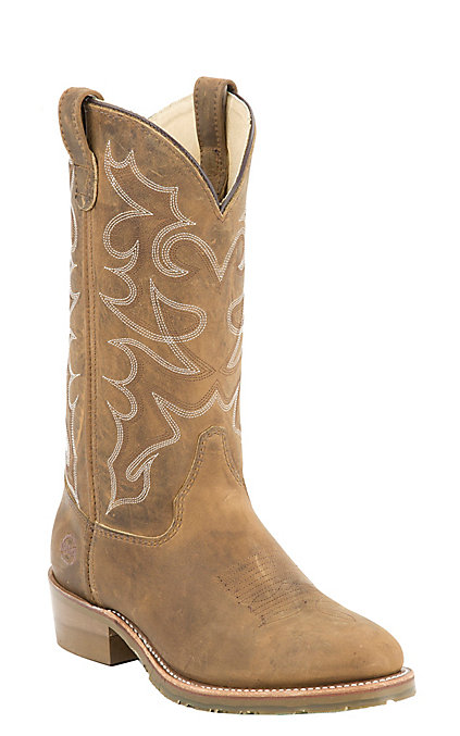6a61930c350 Double H Oak Ice Men's Distressed Brown Western Boots
