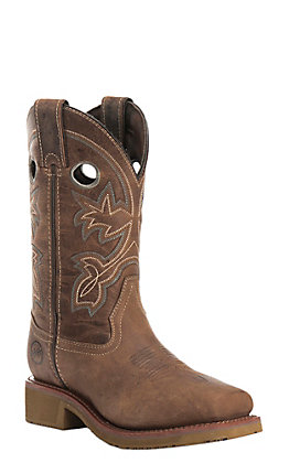 Double H Women's Chestnut Composite Toe Square Toe Work Boot