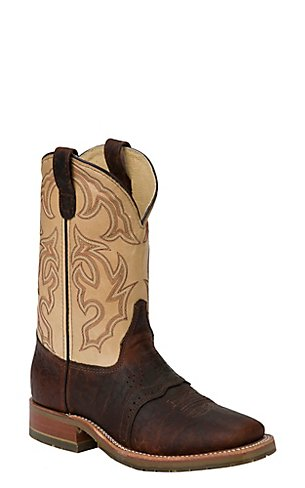 Bison Ice Mens Boots Boots Double H Wide Square Briar Echo Taupe
