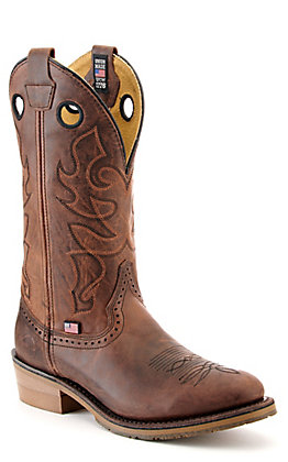 Double H Men's ICE Kilgore Tera Moka Brown Round Toe Western Boot