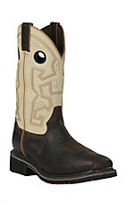 Double H Men's Brown & Beige 13