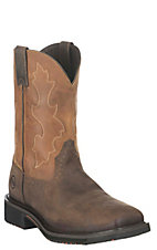 Double H Men's Brown and Butterscotch Composite Toe Aeroglide Work Boots
