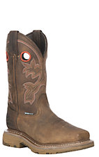 Double H Men's WorkFlex Brown Waterproof Composite Square Toe Work Boot