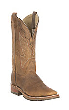 Double H Women's Oldtown Tan Folklore Western Square Toe Boots