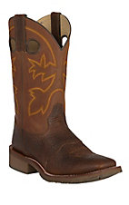 Double H Men's Canyon Rust Saddle Vamp Square Toe Western Boots