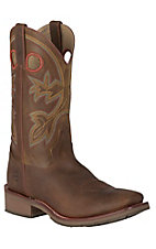 Double H Men's Canyon Rust Double Welt Square Toe Western Boots