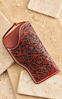 3D Tan Floral Embossed Gun Holster