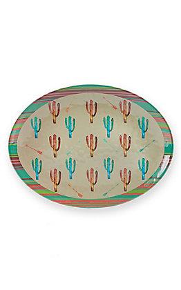 HiEnd Accents Cactus Serving Platter