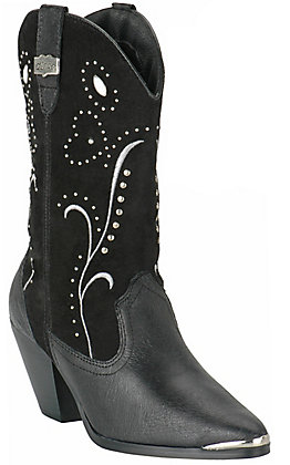 Dingo Women's Fancy Black Fashion Boots