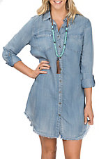 Dear John Women's Mire Tie Denim Dress