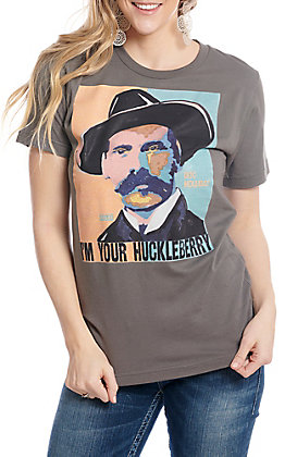 05ff5ebfa5317b XOXO Art   Co Doc Holliday I m Your Huckleberry Short Sleeve ...