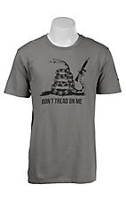 Mason Jar Label Men's Grey Don't Tread On Me Short Sleeve T-Shirt
