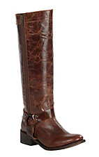Dan Post Women's Hot Ticket Rust Tall Top Round Toe Western Fashion Boot
