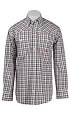 Miller Ranch by Cinch Men's L/S Plaid Shirt