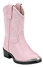 Durango Toddler Dusty Pink & Chrome Western Boots