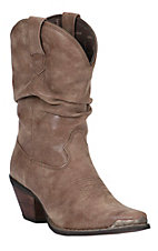 Crush by Durango Women's Cinnamon Narrow Square Toe Slouch Western Boot