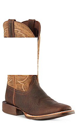 Durango Men's Rebel Pro Brown and Tan Wide Square Toe Western Boots