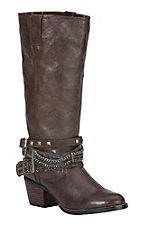 Durango Philly Women's Brown Customizable Accessory Round Toe Western Boots