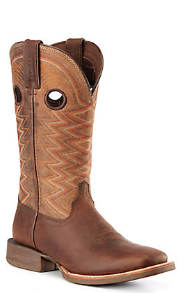 Durango Lady Rebel Pro Women's Brown Tigers Eye Square Toe Western Boots