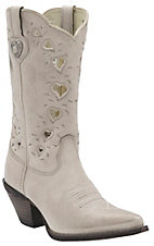 Durango Crush Women's Taupe Heartfelt Snip Toe Western Boot