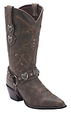 Durango Crush Women's Brown Heartbreaker Snip Toe Western Boot