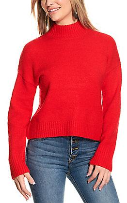 Double Zero Women's Poppy Long Sleeve Sweater