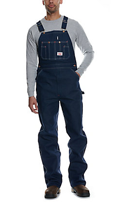 Round House Denim Bib Overalls--Sizes 52-54
