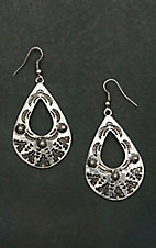 West & Co. Silver Teardrop Earrings