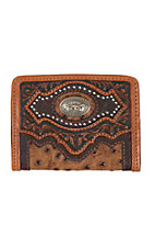 Silver Creek Tan Cattle Driven Wallet
