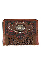 Silver Creek Bifold Cattle Driven Dark Wallet