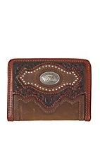 Silver Creek Bifold Cattle Driven Aged Bark Wallet