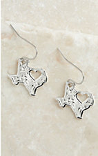 Montana Silversmiths My Heart Belongs in Texas Earrings