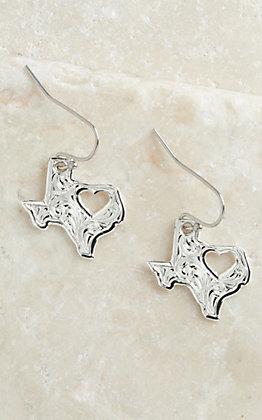 Montana Silversmiths My Heart Belongs in Texas Earrings