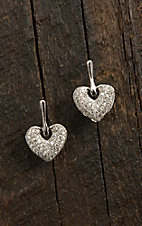 Montana Silversmiths Sparkling Heart Drops Earrings