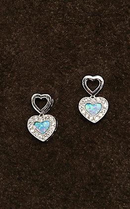 Montana Silversmiths River Lights In Love Earrings