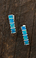 Montana Silversmiths Multi Square Opal Bars