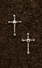 Montana Silver Smith Faith is an Open Book Cross Earrings