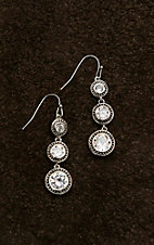 Montana Silver Smith Star Lights Dewdrop Earrings